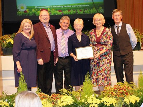 Ainsdale In Bloom - Awards & Nominations - Ainsdale Village Church Community Garden Outstanding Award 2014